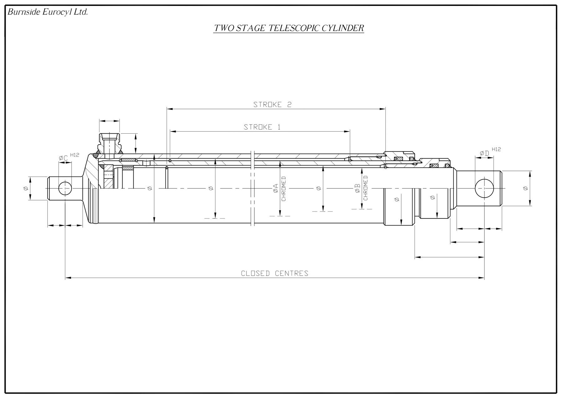 Telescopic Cylinders | Burnside Eurocyl